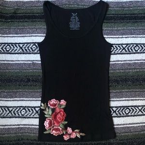 Beautiful Rose Embroidered Top